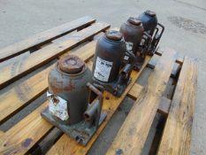 Q 4 x McNair Engineering 35 Tonne Hydraulic Jacks