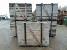 Qty 5 x Heavy Duty Engine Shipping Crate