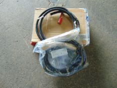 2X HIGH PRESSURE FUEL LINES C/W COUPTING