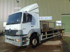 2003 Mercedes Atego 4x2 1823 Manual Flatbed Truck