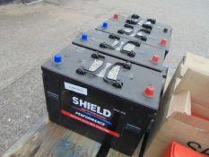 4 x Shield 655 Performance HD Heavy Duty 12V Batteries
