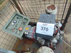 MARKON B105D 5KVA LISTER/PETTER ELECTRIC START 240/120 VOLT 50HZ DIESEL GENERATOR