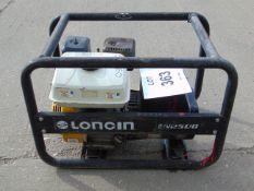 LONCIN EN2500 240/110 VOLT GENERATOR