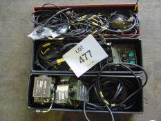 VARIOUS CLANSMAN RADIO BOXES, LEADS, ETC.