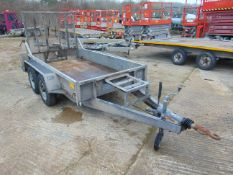 Heritage 2.4 Tonne Twin Axle Plant Trailer c/w Ramps