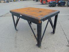 Ex MoD Heavy Duty Steel Engineering Bench