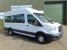 2014 Ford Transit 2.2 TDCI 460 15 Seat Minibus ONLY ONLY 33,479 kms - 20,000 miles!