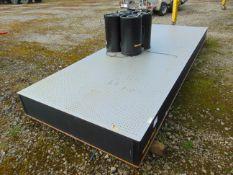 Melles Griot Optical Table L 4.25m x W 1.5m c/w Legs