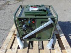 Unissued Harrington Hatz Diesel Lightweight Field Generator 2.5 KVA 2 kW, 230 V/110 V AC/28 V DC