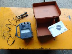 Megger Major MJ4/2 Hand Cranked Insulation Tester c/w Leather Case and Leads
