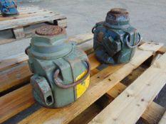 Q 2 x Lake & Elliot M35 Mastiff 35 Tonne Hydraulic Jacks