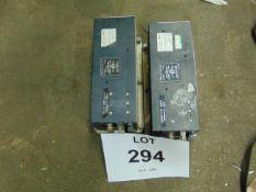 2X CELAB 240 VOLT/ 12-24 POWER SUPPLY UNITS