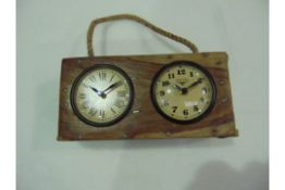 HERITAGE DOUBLE CLOCK