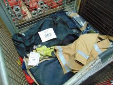 FIRE/ RESCUE AND SAFETY CLOTHNG ETC INCLUDING JACKETS, GLOVES, TROUSERS ETC