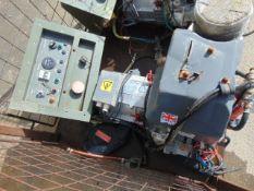 Markon B105D 5 KVA lister/petter electric start 240/120 volt 50 HZ Diesel Generator ONLY 113 HOURS!