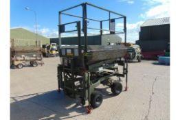 RAF MAINTENANCE UNIT UK LIFT HYDRAULIC ACCESS PLATAFORM SWL 272 KGS