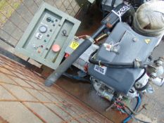 Markon B105D 5 KVA lister/petter electric start 240/120 volt 50 HZ Diesel Generator ONLY 2,189 HOURS