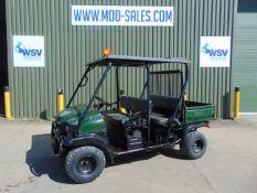 KAWASAKI Diesel 4x4 Mule with Power Steering 4926 miles 2/4 +seater