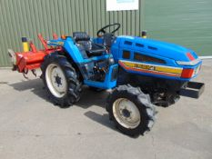 Iseki Landhope 205 4x4 Compact Tractor c/w Rotavator ONLY 724 HOURS!