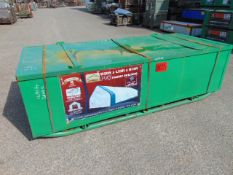 Huge L 32ft x W 20ft x H 16ft Relocatable Heavy Duty Storage Shelter New Unissued
