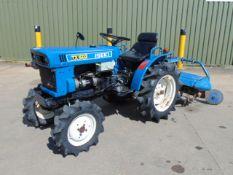 Iseki TX1500 4x4 Compact Tractor c/w Rotavator