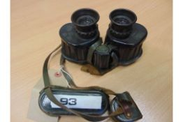 CARL ZEISS 6 X30 MILITARY BINOCULARS C/W FILTERS ETC