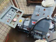 Markon B105D 5 KVA lister/petter electric start 240/120 volt 50 HZ Diesel Generator ONLY 103 HOURS!