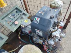 Markon B105D 5 KVA lister/petter electric start 240/120 volt 50 HZ Diesel Generator ONLY 525 HOURS!