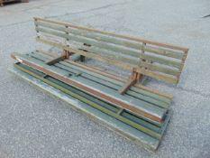2 x Bedford / Leyland Daf Folding Rear Bench Seats as shown