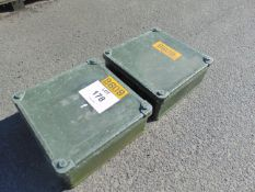 2X ALUMINIUM ZARGES BOXES