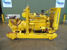 Rolls Royce Diesel Newage Stamford 125KVA Generator with Shannon Power control panel ONLY 141 HOURS!