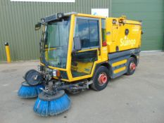 Scmidt Swingo 250 Compact Road Sweeper ONLY 3,351 MILES!