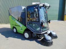 2009 Green Machine 636HS Hi-Speed Vacuum Sweeper, Kubota Diesel, ONLY 5,189 Hours!