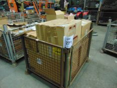 1X STILLAGE UNSORTED SPARES AS SHOWN