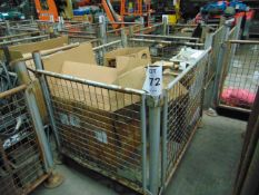 1X STILLAGE UNSORTED SPARES AS SHOWN.