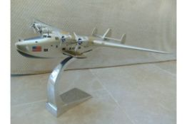 SUPERB SCALE MODEL OF THE BOEING 314 DIXIE CLIPPER