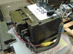 VERY RARE PHILIPS NATO SEM 25 VEHICLE MOUNTED RADIO SET C/W MOUNTING TRAY ETC