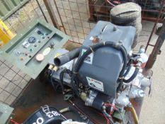 Markon B105D 5 KVA lister/petter electric start 240/120 volt 50 HZ Diesel Generator ONLY 823 HOURS!