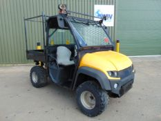 JCB Workmax 4WD Diesel Utility Vehicle UTV shows ONLY 316 HOURS!