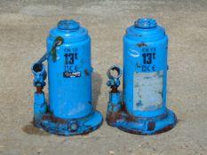 Q 2 x Tangye 13 Tonne Hydraulic Jacks