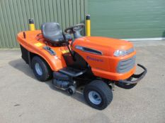 Husqvarna CTH151 Ride-On Mower with Grass Collector
