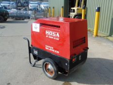 MOSA GE6000 5X/GS SUPER SILENCED 240/110 VOLT DIESEL GENERATOR 723 HRS ONLY