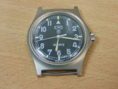 CWC W10 BRITISH ARMY SERVICE WATCH NATO MARKINGS AND BROAD ARROW- 1991 GULF WAR
