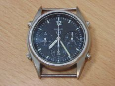 VERY RARE GEN I SEIKO PILOTS CHRONO R.A.F. ISSUE WATCH NATO MARKED DATED 1984