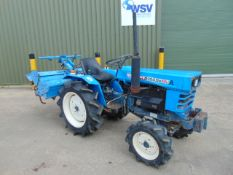 Mitsubishi D1500 4x4 Compact Tractor c/w Rotavator ONLY 732 HOURS!