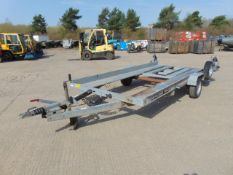 Brian James Single Axle Car Transporter Trailer C/W Ramps