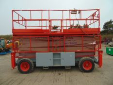 SkyJack SJ9250 Rough Terrain 17.2m Diesel Scissor Lift