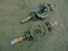 2 x K2 Semi Rotary Hand Pumps
