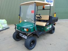 E-Z-GO Lifted Petrol Estate Vehicle c/w Tipping Rear Body