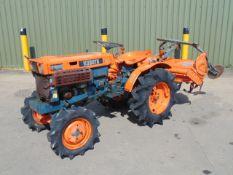 Kubota B7000 4x4 Compact Tractor c/w Rotavator